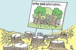 5 HAZİRAN DÜNYA ÇEVRE GÜNÜNDE PARABABALARI DOĞAYI KATLETMEYE DEVAM EDİYOR  Gözlerini kâr hırsı bürümüş yerli-yabancı Parababaları, çıkardıkları yasalardaki boşluklardan yararlanarak oksijen deposu ormanlarımızda maden arayarak ağaçları katlediyorlar. Özgür akan […]