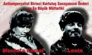 Mustafa Kemal Lenin Afişi