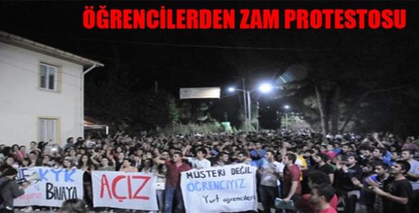 """Öğrencilerden Yemek Fiyatlarına Tepki Kredi ve Yurtlar Kurumunun Adana'daki Erkek Öğrenci Yurdunda yemek fiyatlarının yüksek olmasına karşı öğrenciler """"Yemekhaneyi Boykot"""" eylemi başlattılar. Kredi Yurtlar Kurumu (KYK)'nin 2014 yılında yemek fiyat […]"""