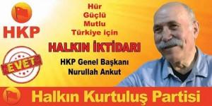 HKP Genel Başkanı Nurullah Ankut
