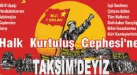 2016 1 Mayısı'nda da Türkiye İşçi Sınıfının Vatanında, 1 Mayıs Alanı'nda-Taksim'deyiz! İşçi Sınıfımızın kanıyla sulanmış olan Taksim Meydanı yıllardır Parababaları İktidarları tarafından işçilere, emekçilere kapatılmaktadır, bilindiği gibi. Her zaman ifade […]