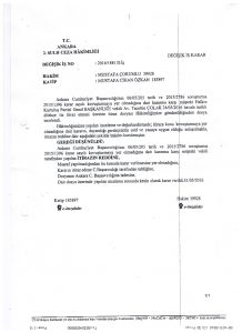 Ankara 2. Sulh Ceza Hakimliği Kararı