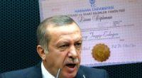 HKP, Cumhurbaşkanı Tayyip Erdoğan'ın sahte diplomasını Anayasa Mahkemesine taşıdı Tayyip Erdoğan'ın diplomasının sahteliği sebebiyle Halkın Kurtuluş Partisi Genel Başkanlığı olarak savcılığa suç duyurusunda bulunmuştuk. Savcılık tarafından suç duyurusunaİşleme Koymama Kararıverilince, […]