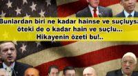 """Bunlardan biri terörist mi? Evet. Öbürü? Öbürü de aynı… Bunlardan biri""""Faşist Din Devleti""""peşinde mi? Evet. Öbürü? Öbürü de aynı… Bunlardan biri Laik Cumhuriyet ve Mustafa Kemal düşmanı mı? Evet. Öbürü? […]"""