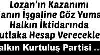 Türkiye karasularında bulunan, çeşitli uluslararası antlaşmalarla da Türkiye'ye bırakılan 18 Ege Adası Yunanistan tarafından işgal edilmiş bulunmaktadır. Bu işgale göz yummak, vatan topraklarının elden gitmesine sessiz kalmak vatana ihanettir. Partimiz […]