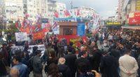 16 Nisan'da yapılan referandumda AKP'gillerin bütün dünyanın gözü önünde oy hırsızlığı yapmasının ardından ülke genelinde süren protestolardan biri de bugün (20 Nisan) Karşıyaka'daydı. Saat 19'da Karşıyaka İZBAN önünde, ellerimizde üzerinde […]
