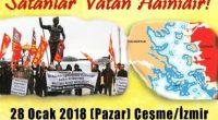 Yunanistan tarafından işgal edilen Ege Adaları ile ilgili İzmir Çeşme'de coşkulu bir eylem gerçekleştirdik. İşgal altındaki Ege Adalarımızı, vatan topraklarımızı savunmak için Çeşme'de toplandık ve bu vatanın sahipsiz olmadığını haykırdık. […]