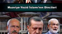 """AKP'giller'in Büyük Patronu, Kaçak Saray'da mukim Tayyip geçenlerde fetvayı verdi: """"Son günlerde bakıyorsunuz, Din adamı olarak ortaya çıkıp da ne yazık ki kadınla ilgili çok farklı açıklamalarda bulunup dinimizde yeri […]"""