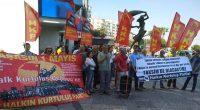 """Halkın Kurtuluş Partisi İzmir'lileri Taksim'e mücadeleye çağırdı. HKP İzmir İl Örgütü, Karşıyaka Çarşıda, """"Taksim Vatandır, Taksim Namustur. Taksim 1 Mayıs'ın Anavatanıdır"""" diyerek İzmir'lileri 1 Mayıs İşçi Sınıfının Uluslararası Birlik Mücadele […]"""