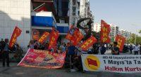 Halkın Kurtuluş Partisi İzmir İl Örgütü, İşçi Sınıfının Birlik, Mücadele ve Dayanışma Gününe sayılı günler kala Taksim çağrısı yaptı. 27 Nisan Cumartesi günü Karşıyaka Çarşı girişinde bir araya gelen HKP'li […]