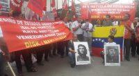 DİSK/Nakliyat-İŞ Sendikasından yapılan açıklama; ABD Emperyalizminin Venezuela'ya Yönelik Giriştiği Faşist Darbeyi Protesto Etmek İçin ABD Büyükelçiliği'nin Önünde Kitlesel Eylem Yaptık Katil ABD-Trump Venezuela'dan Defol. Venezuela İşçi Sınıfı ve Halkı Yalnız […]