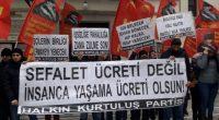 """Halkın Kurtuluş Partisi İstanbul İl Örgütü olarak geçen hafta AKP'giller Hükümeti tarafından açıklanan, 2020 yılı için belirlenen Asgari Ücreti protesto ettik. Kadıköy Süreyya Operası önünde gerçekleşen eylemimizde hep bir ağızdan""""İşsizliğe […]"""