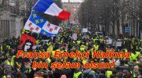 Tarih yazıyorlar, örnek oluyorlar, umut veriyorlar dünya halklarına. Sineye çekmiyor Fransa Emekçileri haklarına yapılan saldırıyı. Fransa Parababalarının iktidarı Macron Yönetiminin, zengini daha zengin, fakiri daha fakir yapacak politikalarına karşı geri […]