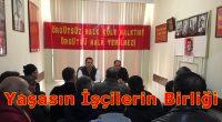 """İşçilerin Partisi HKP'den Konya'da Konferans: """"Türkiye'de İşçi Sınıfının Durumu ve Sendikaların Rolü"""" Partimiz Konya İl Örgütü tarafından;""""Türkiye'de İşçi Sınıfının Durumu ve Sendikaların Rolü""""konulu Konferansımız, 19 Ocak Pazar günü saat 13.00'da […]"""