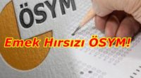 AKP'giller iktidarı, bizlerin ve bilim insanlarının sınavların ertelenmesine yönelik tüm taleplerine karşı, bilim dışı, akıl dışı ısrarını sürdürürken; Ölçme, Seçme ve Yerleştirme Merkezi Başkanlığı (ÖSYM) tarafından düzenlenen Temel Yeterlilik Testi […]