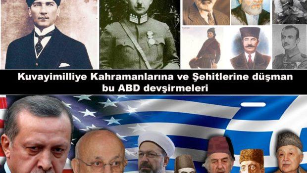 Ey Merkez Üssü Kaçak Saray olan ABD, İngiltere ve Siyonist İsrail Devşirmeleri! Siz sadece Birinci Kuvayimilliye'nin önde gelen komutanları Mustafa Kemal, İsmet İnönü ve Silah Arkadaşlarına değil, Kuvayimilliye'yi savunan tüm […]