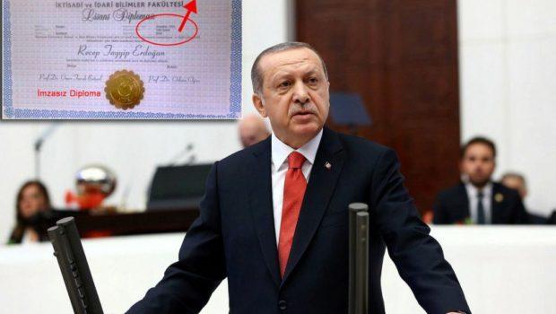 Artık tüm dünya biliyor, Tayyip Erdoğan'ın Cumhurbaşkanı olmak için gerekli olan üniversite diplomasının olmadığını.4 yıllık bir yükseköğretim kurumundan mezun olduğunu kanıtlar bir diploması kamuoyu ile paylaşılamadığı gibi, paylaşılan diplomaların ise […]