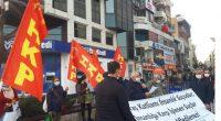 """Halkın Kurtuluş Partisi İzmir İl Örgütü üyeleri olarak Karşıyaka Çarşı girişinde saat 17.00'de, Kanlı Maraş Katliamı'nın 42. Yıldönümünde""""Maraş Katliamı İnsanlık Suçudur, İnsanlığa Karşı İşlenen Suçlar Unutulmaz, Affedilemez""""yazılı pankartımızı açarak başladığımız […]"""