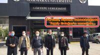 Partimiz, Diploma Sahtekârlığında Tayyip Erdoğan'ın ensesinde… Bu kez de Marmara Üniversitesine sorduk: Tayyip'in diplomaları nerede? Cumhurbaşkanlığı koltuğunu işgal eden Recep Tayyip Erdoğan'ın, olmayan Eyüp Lisesi ve Marmara Üniversitesi diploması ile […]