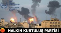 Partimiz, Siyonist İsrail'in Filistin Halkına yönelik soykırım tanımına girecek şekilde yaptığı saldırıları Uluslararası Ceza Mahkemesine taşıdı. Halkçı Hukukçu Yoldaşlarımız, İsrail Devleti ve İsrail Cumhurbaşkanı Reuven Rivlin, İsrail Başbakanı Benjamin Netanyahu, […]