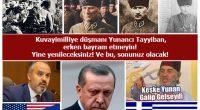 """Bursa Büyükşehir Belediye Başkanı Alinur Aktaş buyurmuştu; """"30 Ağustos toplumun genelini ilgilendiren bir bayram değil. Bu sebeple de o gün şehir içi toplu ulaşımın bedava olması gerekmez… """"O zaman Ormancılar […]"""
