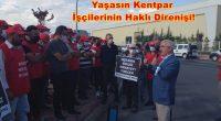 """HKP Konya İl Örgütü olarak, fabrikadan polis zoruyla çıkarıldıktan sonra fabrikanın önünde günlerdir direnen Kentpar İşçilerini ziyaret ettik. Kentpar Direnişi'yle ilgili açıklamamızıParti Genel Sekreter Yardımcımız Avukat Tacettin Çolakyaptı. Çolak; """"Üyesi […]"""