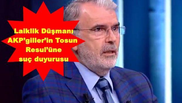 AKP'giller Laik Cumhuriyet'i yıktılar, şimdi de laikliğin adı bile olmasın istiyorlar. Laiklik alerjisi var AKP'giller'de. Çünkü Laikliğin olması, tam olarak oturması demek, AKP'giller'in olmaması anlamına geliyor. Laiklik olmazsa bilim, özgürlük, […]