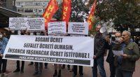 Sefalet Ücretine mahkûm olmasın İşçi Sınıfımız İşçi Sınıfımızın Hakkı insanca yaşanacak ücrettir! AKP'giller'in Türkiye'sinde insanca yaşanacak ücretin miktarı da bellidir: 10 bin TL. İşte bu talebimizi haykırdık Ankara'da, sloganlarımız, bayraklarımız, […]